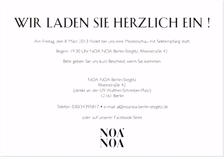 Einladung Muster — Rulmeca Germany