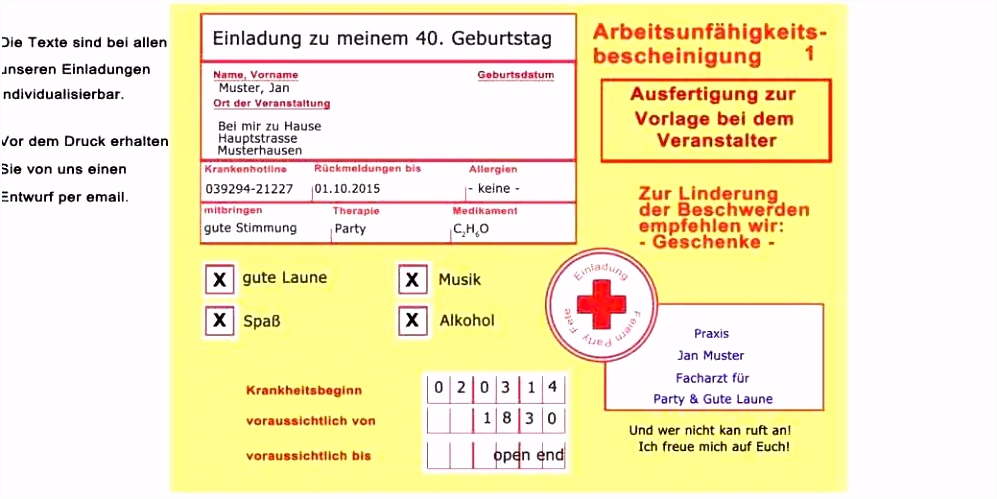 Text Einladung 40 Geburtstag Lustig Elegant Einladung Zum 30