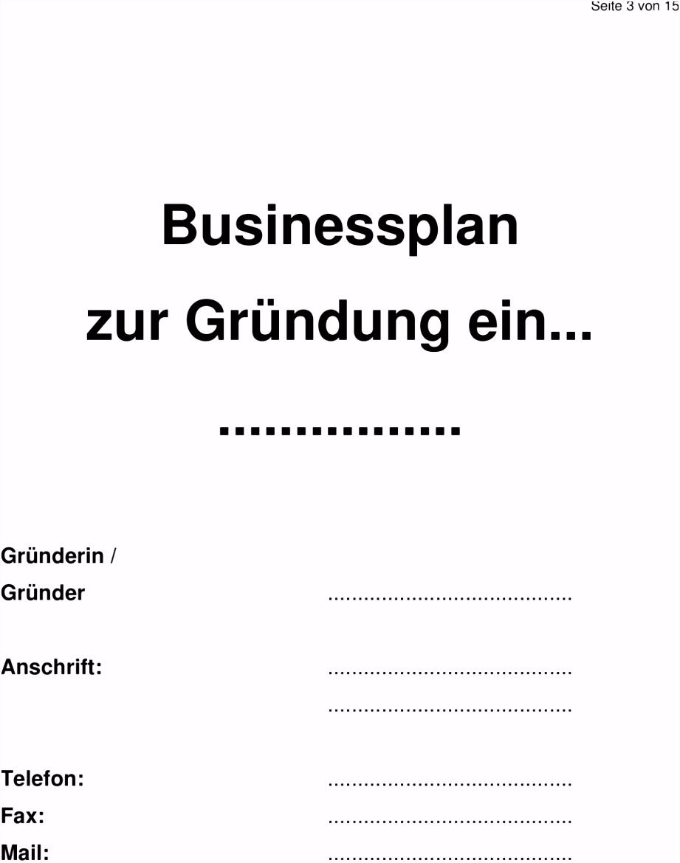 Aufbau und Inhalt eines Businessplans PDF