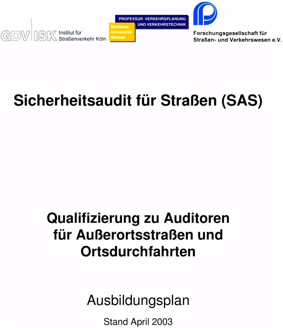 Vorlage Jahresbericht Brandschutzbeauftragter Sicherheitsaudit Für Straßen Sas Qualifizierung Zu Auditoren Für F2fk82itg1 Nvehhmgtg2