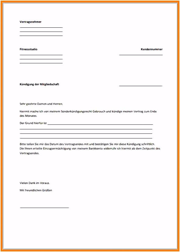 17 Kündigungsschreiben Wohnung Musterbrief Freyajacklin