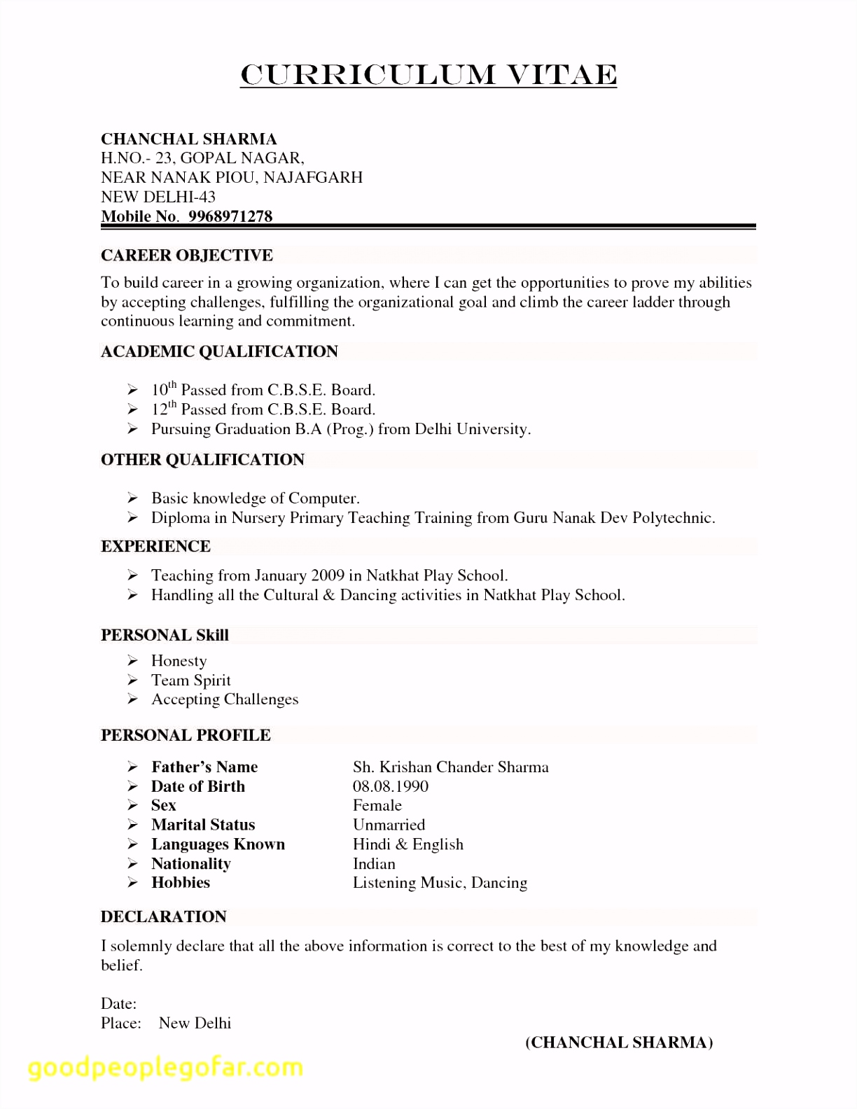 200 Create My Resume Free
