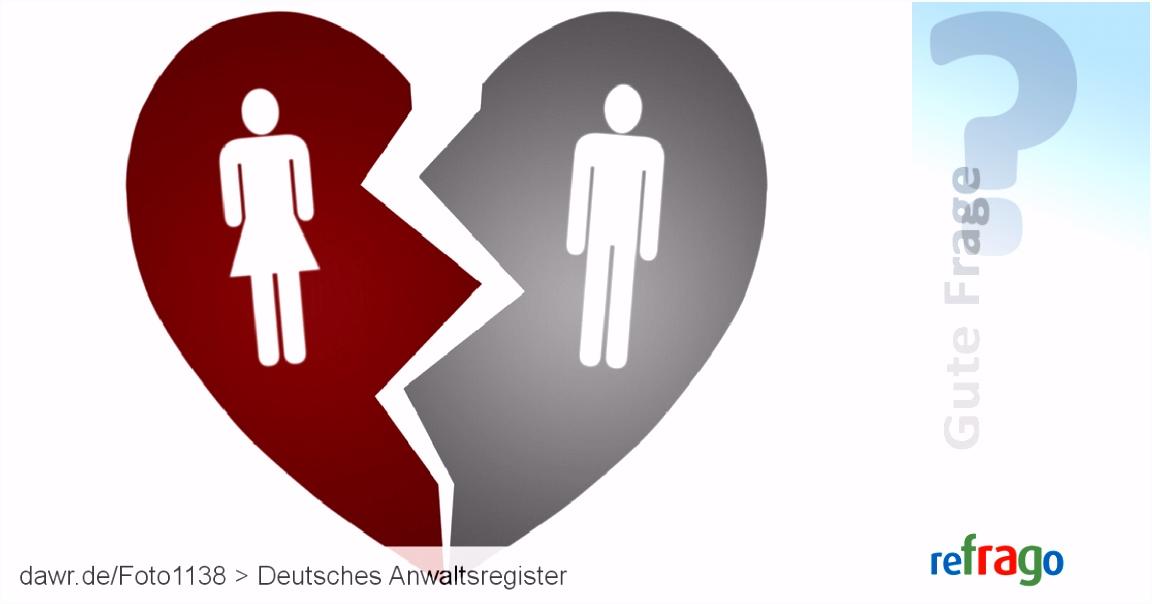 Was ist eine einvernehmliche Scheidung und was bringt sie