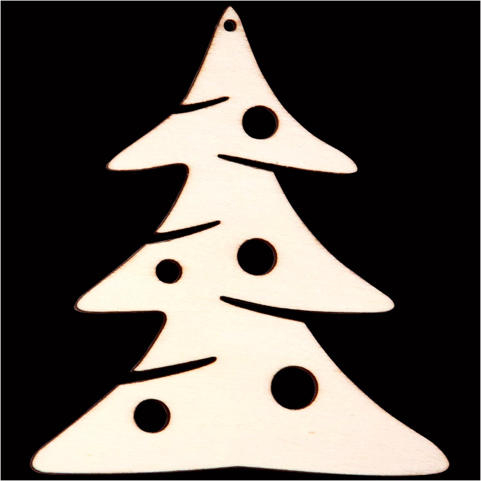 Schablone Tannenbaum Ausdrucken innen Weihnachtsbaum Vorlagen