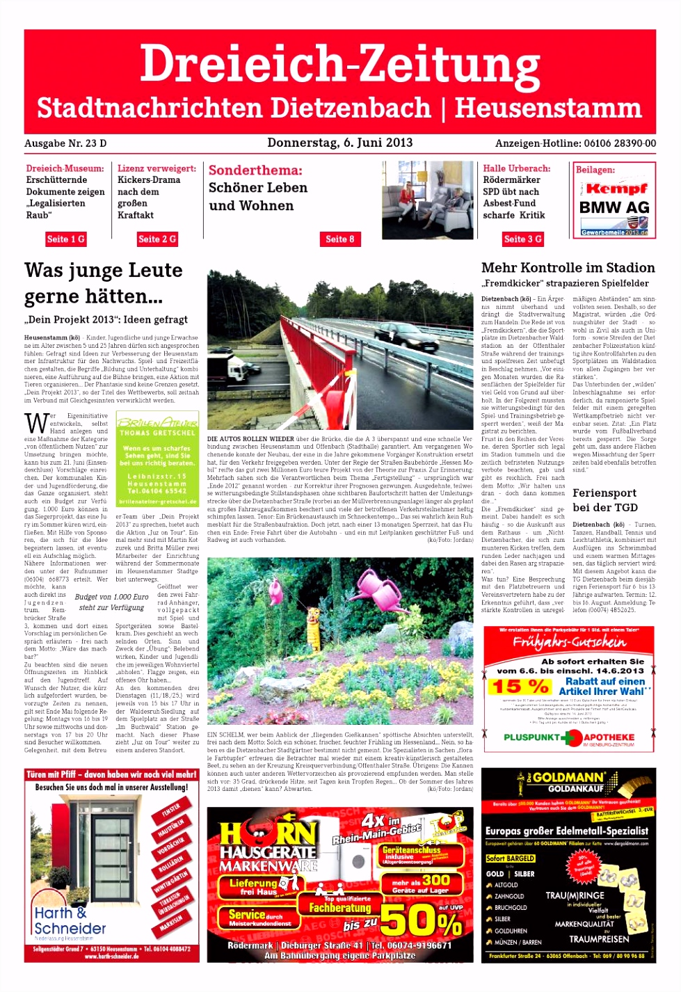 Dz online 023 13 d by Dreieich Zeitung fenbach Journal issuu