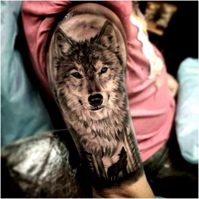 50 The Most Beautiful Wolf Tattoo Designs The Internet Has Ever