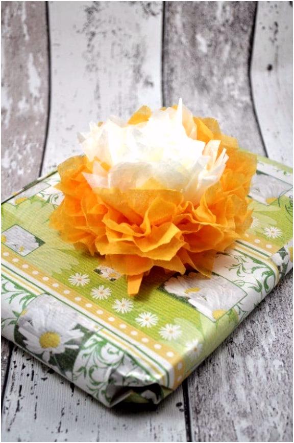 Papierblumen basteln mit Schritt für Schritt Anleitung HANDMADE Kultur