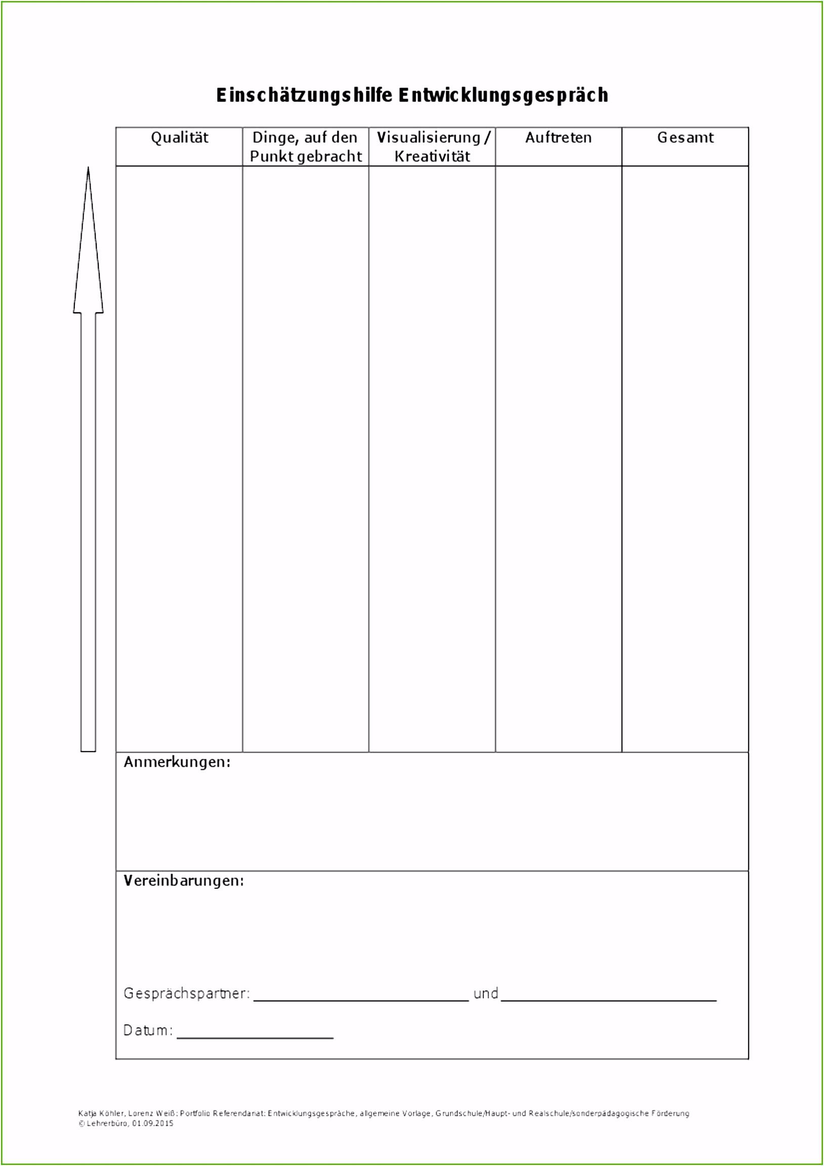 Entwicklungsgespräch Vorlage 14 Designs Sie Berücksichtigen Müssen