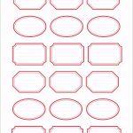 5 Etiketten Selber Drucken Vorlagen
