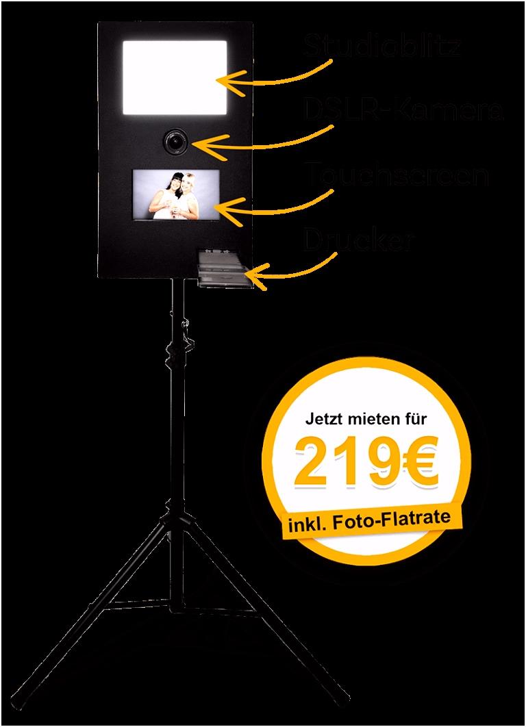 Fotobox Vermietung
