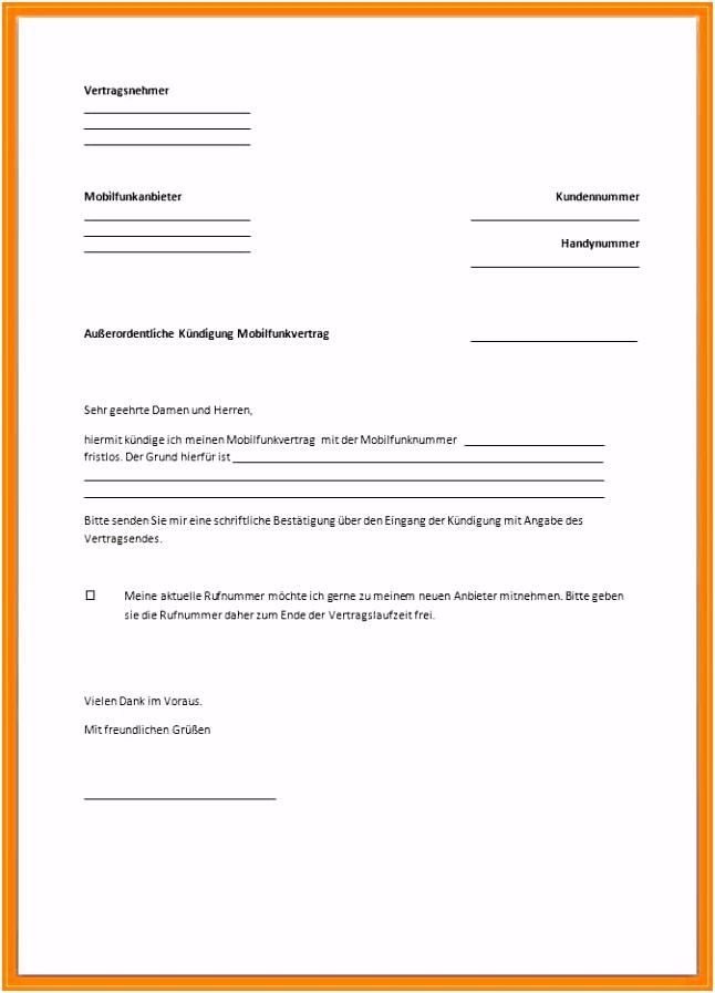 Kündigung Ausbildung Vorlage Luxus 6 Kündigungsschreiben Arbeitgeber