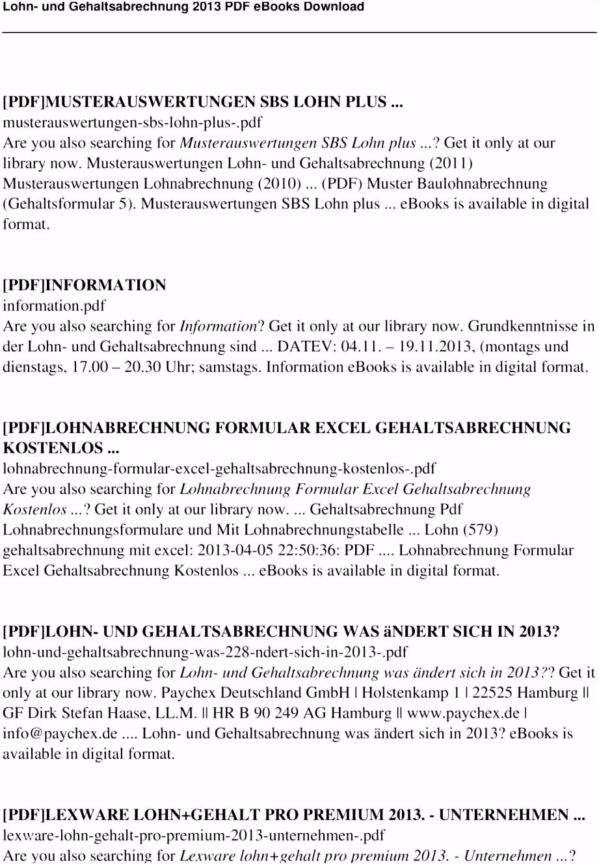 16 Format der Gehaltsabrechnung pdf