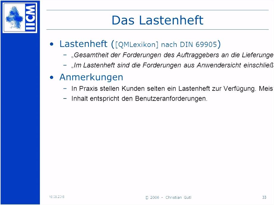 Projektmanagement Beispiele Basic Lastenheft Pflichtenheft Beispiel