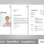 Openoffice Vorlage Lebenslauf